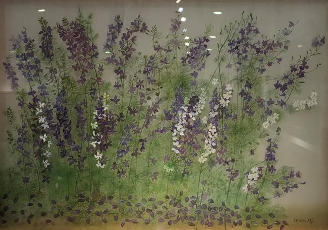 Trưng bày 105 bức tranh tại Triển lãm Hội họa Khu vực 1 - Hà Nội năm 2020 ảnh 1