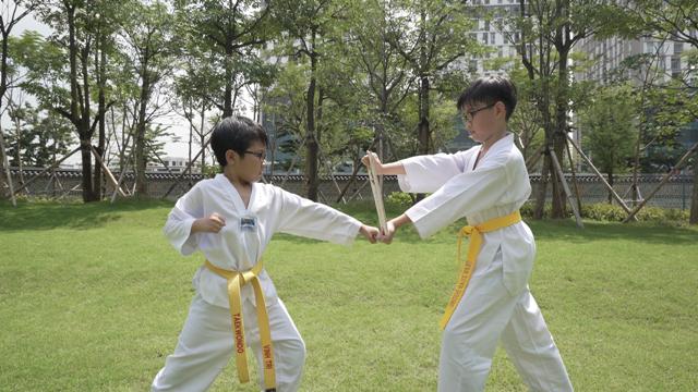 Sản xuất clip Taekwonmu vui nhộn lan tỏa tinh thần chống dịch Covid-19 ảnh 2