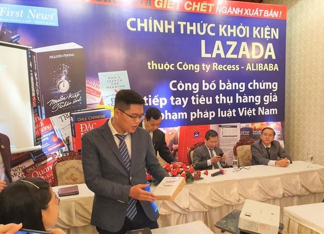 Lazada nói gì khi bị Firt News- Trí Việt khởi kiện? ảnh 1