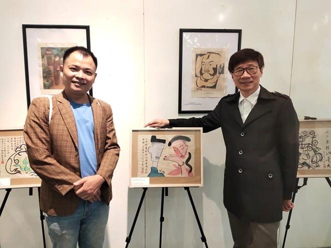 """Nguyễn Tuấn Sơn họa """"Truyện Kiều"""" với cách nhìn mới ảnh 1"""