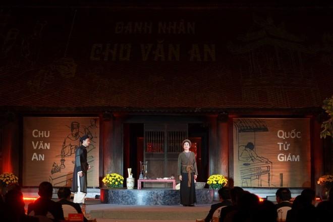 Hà Nội tổ chức trọng thể Lễ kỷ niệm 650 năm ngày mất Danh nhân Chu Văn An ảnh 3