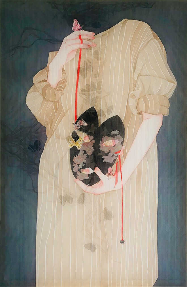 """""""Nóng"""" việc rạch xước tác phẩm tại triển lãm mỹ thuật Việt Nam 2020 ảnh 2"""