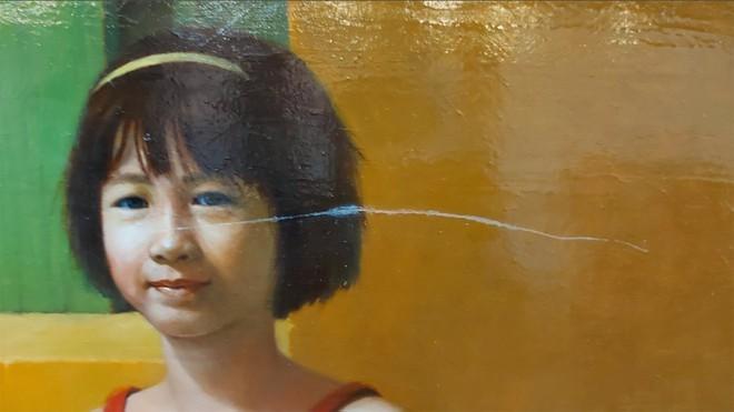 """""""Nóng"""" việc rạch xước tác phẩm tại triển lãm mỹ thuật Việt Nam 2020 ảnh 4"""