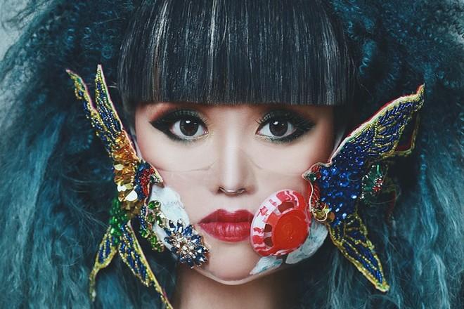 Siêu mẫu Jessica Minh Anh đại diện cho Việt Nam tham gia chiến dịch đeo khẩu trang Maskbook ảnh 1