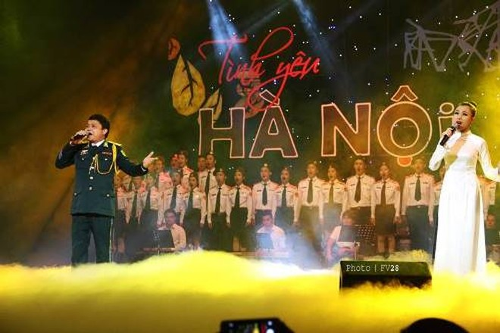"""Đêm nhạc """"Tình yêu Hà Nội"""" lần thứ 13 tôn vinh nhạc sĩ Hoàng Dương, Đặng Hữu Phúc và Vũ Thiết ảnh 1"""