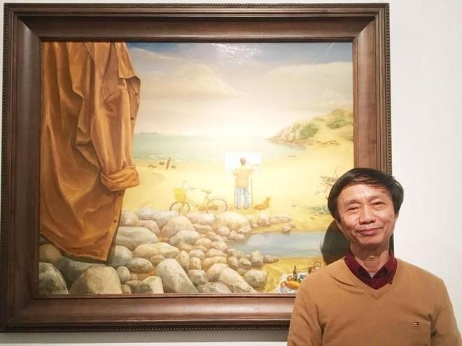 50 năm nghệ thuật sơn dầu và tranh in Lê Huy Tiếp ảnh 1