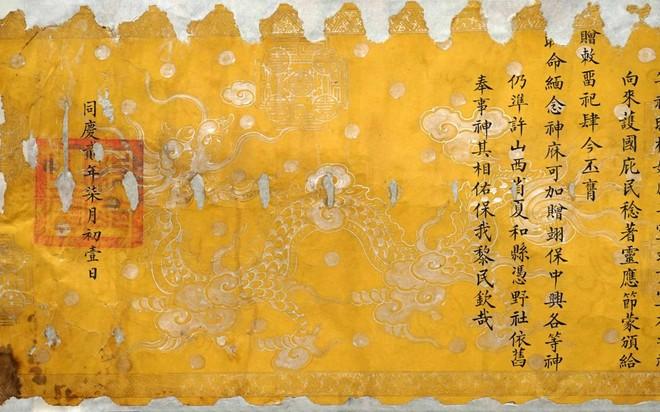6 đạo sắc phong của Hà Nội được công nhận là tài liệu lưu trữ quý, hiếm ảnh 1