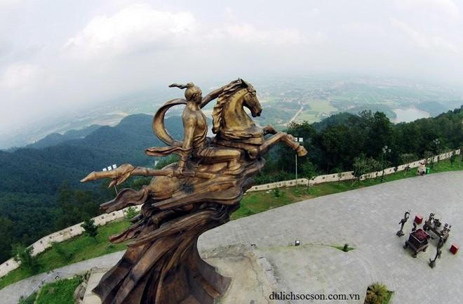 Di tích quốc gia đặc biệt Đền Sóc được công nhận là điểm du lịch của Hà Nội ảnh 1