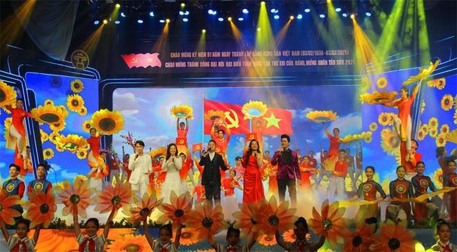 """""""Đảng cho ta mùa xuân"""": Không gian nghệ thuật đặc sắc tái hiện chặng đường vẻ vang của Đảng Cộng sản Việt Nam ảnh 2"""
