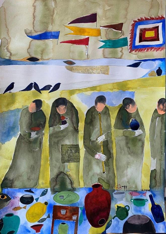 """""""Bài hát về cố hương"""" của nhà thơ Nguyễn Quang Thiều xuất bản tại Colombia ảnh 2"""