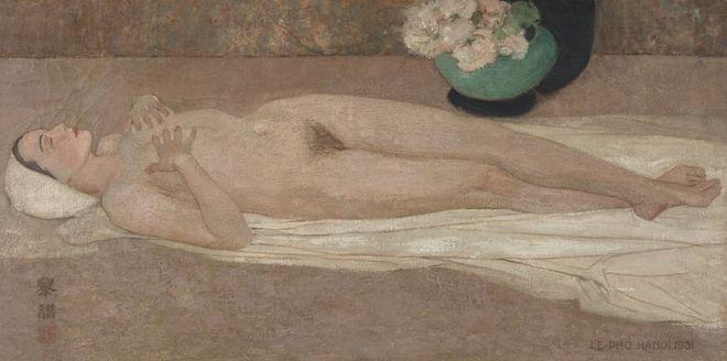 Có gì đặc biệt ở bức chân dung tự họa của Lê Phổ có giá tới cả triệu đô? ảnh 2
