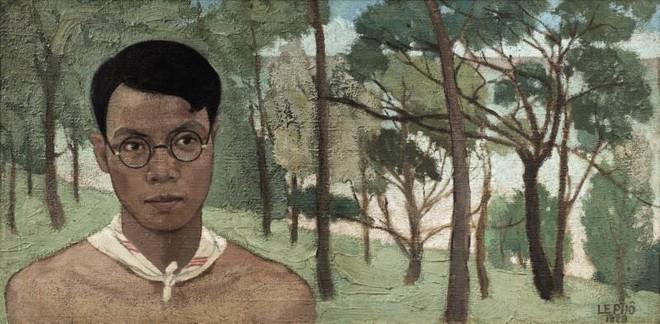 Có gì đặc biệt ở bức chân dung tự họa của Lê Phổ có giá tới cả triệu đô? ảnh 1