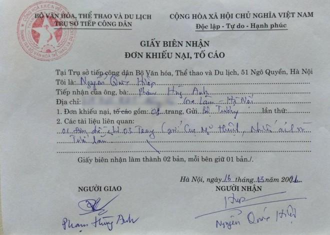 Mất tác phẩm tại Triển lãm Mỹ thuật Việt Nam 2020: Họa sĩ gửi khiếu nại lên Thanh tra Bộ VHTTDL ảnh 1