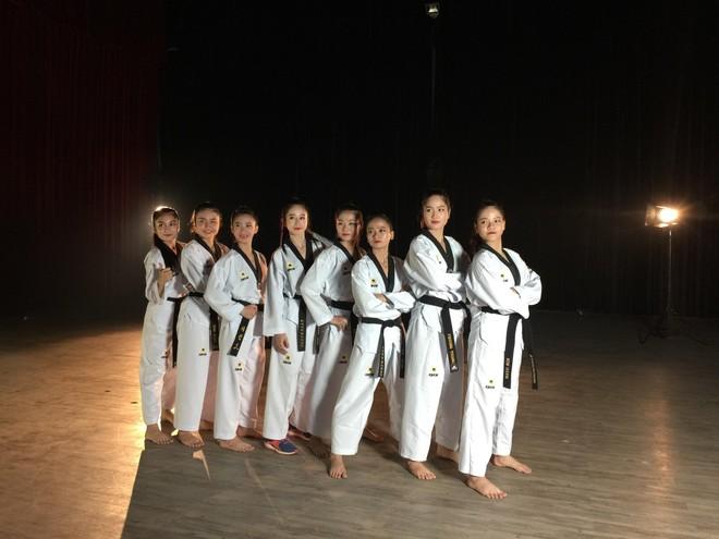 Đội tuyển Taekwondo Quốc gia Việt Nam tham dự Những ngày Văn hóa Hàn Quốc tại Quảng Nam ảnh 1