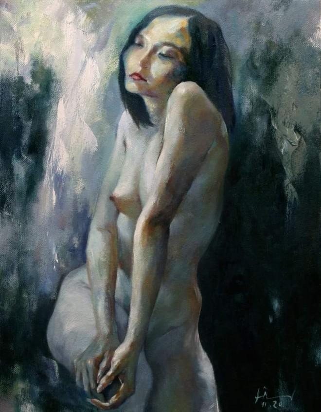 """Tranh nude bị loại khỏi triển lãm vì """"không phù hợp không gian trưng bày"""": Liệu có quá khắt khe? ảnh 1"""