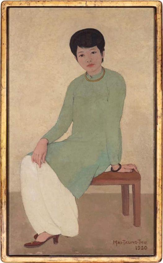 """""""Chân dung madam Phương"""" qua mặt bức khỏa thân của Lê Phổ, xác lập kỷ lục trên sàn quốc tế ảnh 1"""