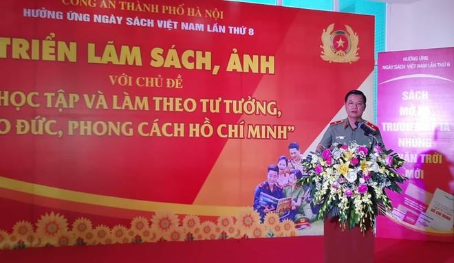 """Thiếu tướng Đào Thanh Hải: Sách góp phần hình thành con người mới, các chiến sĩ Công an """"cách mạng, chính quy, tinh nhuệ, hiện đại"""" ảnh 1"""