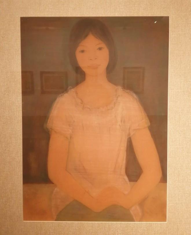 """""""Họa sĩ Linh Chi - Bước qua 10 thập kỷ"""": Triển lãm tranh lụa của người họa sĩ tài hoa ảnh 1"""