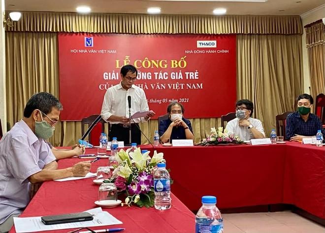 Hội Nhà văn Việt Nam công bố giải thưởng Tác giả trẻ ảnh 1