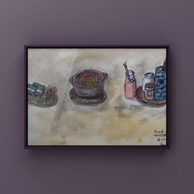 """Triển lãm tranh thiếu nhi online """"Bé vẽ Hà Nội"""" của nhóm Ký họa đô thị Hà Nội ảnh 6"""
