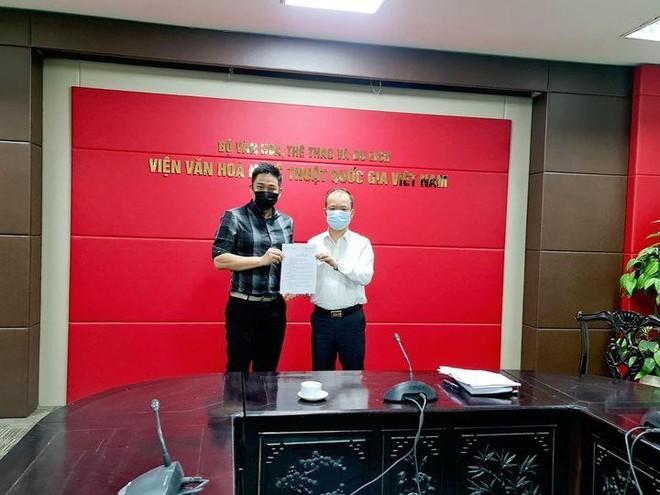 Diễn viên Minh Tiệp giữ chức Giám đốc Trung tâm phát triển công nghiệp văn hóa ảnh 1
