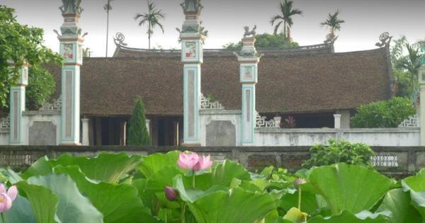 Tu bổ Di tích quốc gia đình Viên Châu - Công trình kiến trúc tiêu biểu của xứ Đoài mây trắng ảnh 1