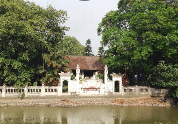 Tái sử dụng tối đa vật liệu gốc của Di tích Quốc gia đình Phú Lương, huyện Ứng Hòa ảnh 1