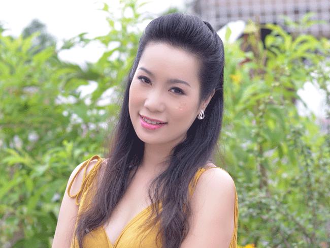 Á hậu Trịnh Kim Chi được đề nghị xét tặng danh hiệu Nghệ sĩ nhân dân ảnh 1