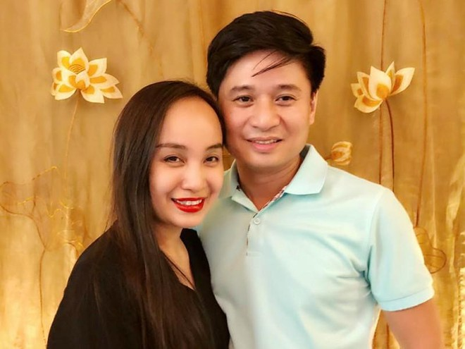 Cặp vợ chồng nghệ sĩ Tấn Minh-Thu Huyền cùng được xét tặng Nghệ sĩ nhân dân ảnh 1