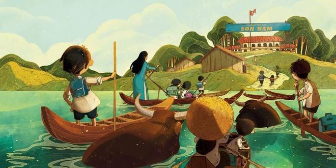 Báo Mỹ ca ngợi cuốn sách tranh đậm chất miền Tây Nam Bộ của họa sĩ Việt ảnh 1