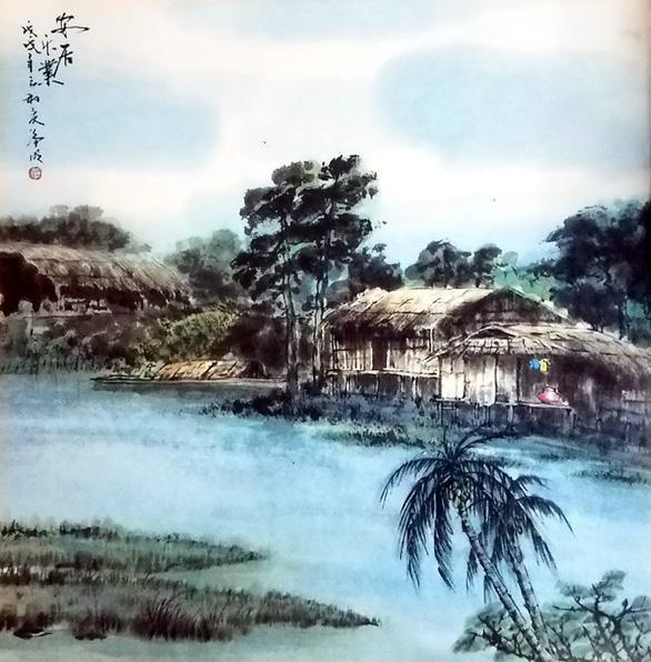 Vĩnh biệt họa sĩ gạo cội tranh thủy mặc - Nghệ nhân nhân dân Trương Hán Minh ảnh 3