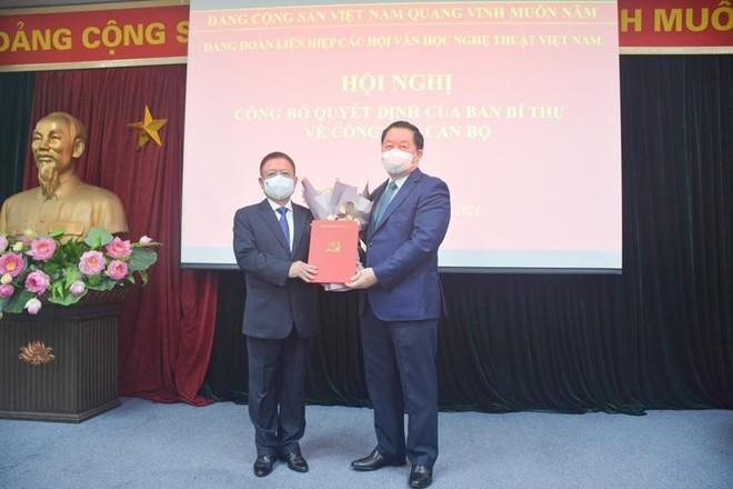Nhạc sĩ Đỗ Hồng Quân giữ chức Chủ tịch Liên hiệp các Hội Văn học nghệ thuật Việt Nam ảnh 1
