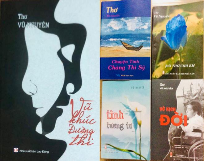 Chàng thi sĩ bại liệt bán sách thơ ủng hộ Quỹ vaccin phòng chống Covid ảnh 2