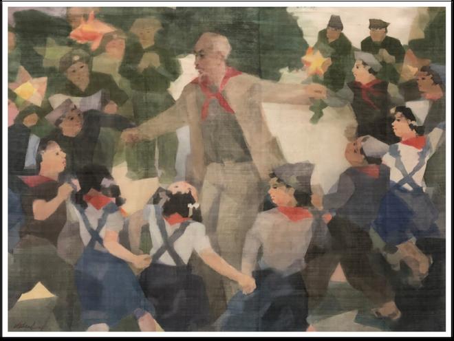 """Trưng bày 25 tác phẩm nghệ thuật gợi nhớ """"Ký ức Hà Nội"""" ảnh 8"""