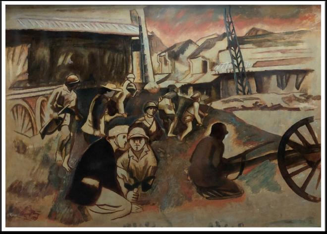 """Trưng bày 25 tác phẩm nghệ thuật gợi nhớ """"Ký ức Hà Nội"""" ảnh 3"""