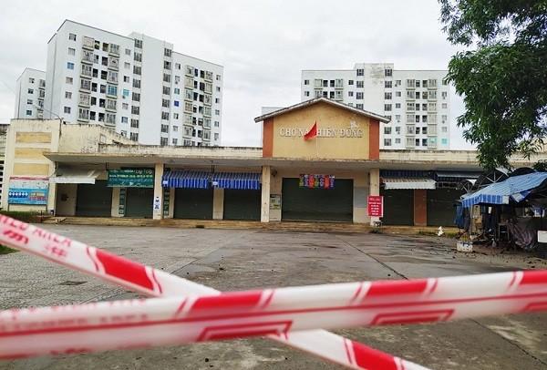 Đà Nẵng đóng cửa khẩn cấp một chợ dân sinh do có 3 bệnh nhân Covid-19 thường xuyên đến ảnh 1