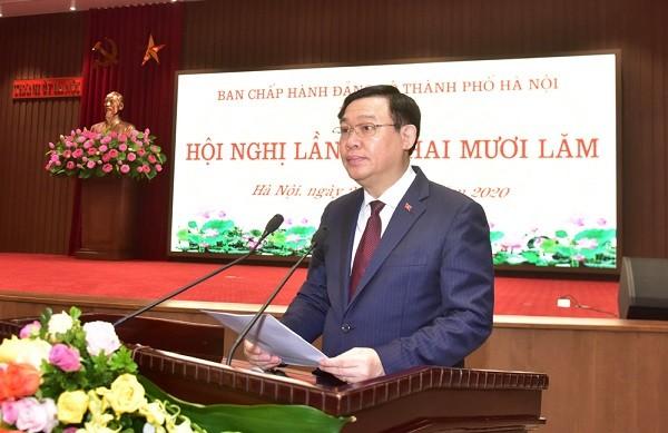 Hà Nội đặt mục tiêu tăng thu nhập bình quân đầu người lên 8.500 USD/ năm vào 2025 ảnh 4