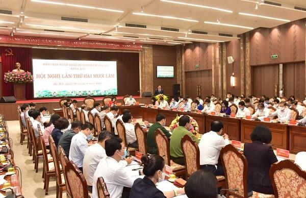 Hà Nội đặt mục tiêu tăng thu nhập bình quân đầu người lên 8.500 USD/ năm vào 2025 ảnh 1