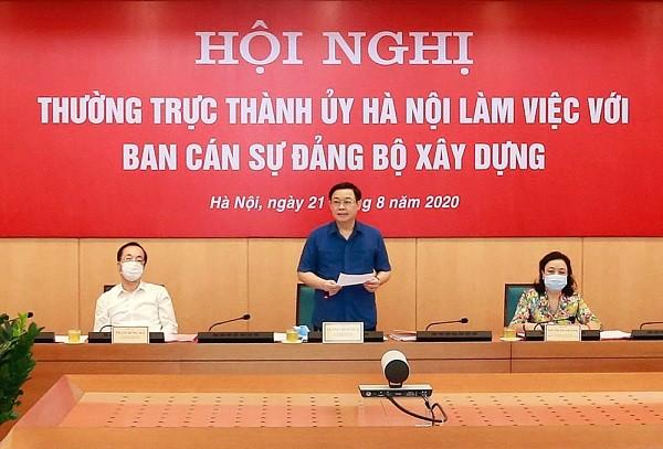 Bộ Xây dựng cam kết cùng Hà Nội giải quyết các vướng mắc về cải tạo chung cư cũ ảnh 2