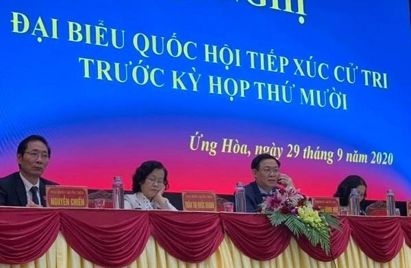 """Cử tri kêu bị """"kẹt"""" 2,7 tỷ đồng trong quỹ tín dụng, Bí thư Thành ủy Hà Nội gọi điện thoại giải quyết ngay ảnh 2"""