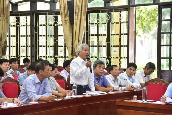 """Cử tri kêu bị """"kẹt"""" 2,7 tỷ đồng trong quỹ tín dụng, Bí thư Thành ủy Hà Nội gọi điện thoại giải quyết ngay ảnh 1"""