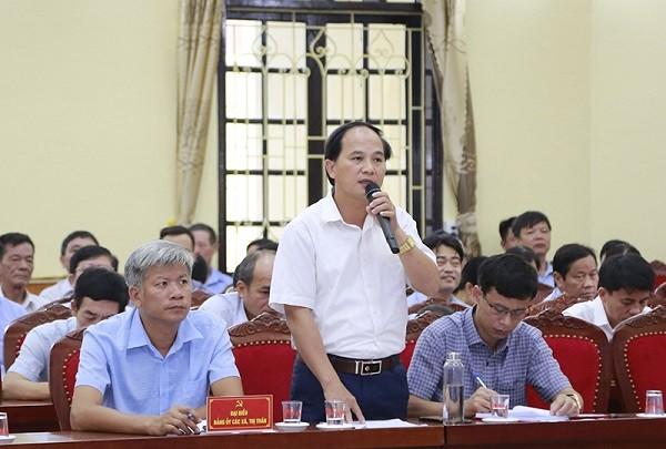 Bí thư Thành ủy Hà Nội: Dứt khoát phải đầu tư mở rộng quốc lộ 21B trong nhiệm kỳ tới ảnh 2