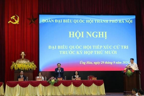 Bí thư Thành ủy Hà Nội: Dứt khoát phải đầu tư mở rộng quốc lộ 21B trong nhiệm kỳ tới ảnh 1