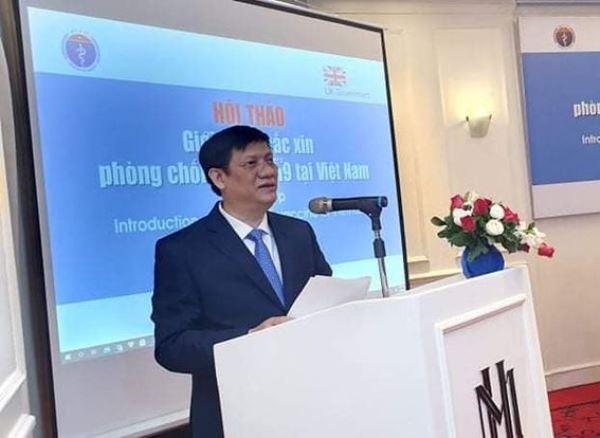 Quyền Bộ trưởng Y tế: Việt Nam có thể nhập vaccine phòng Covid-19 của Anh ảnh 2