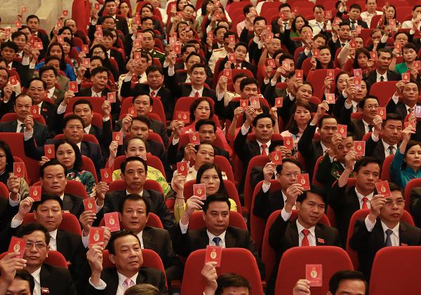 Danh sách 71 đồng chí được bầu vào Ban Chấp hành Đảng bộ TP Hà Nội khóa XVII ảnh 1