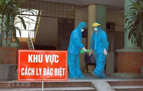 Hai người về từ Mỹ cách ly tại Hưng Yên dương tính SARS-CoV-2 ảnh 1