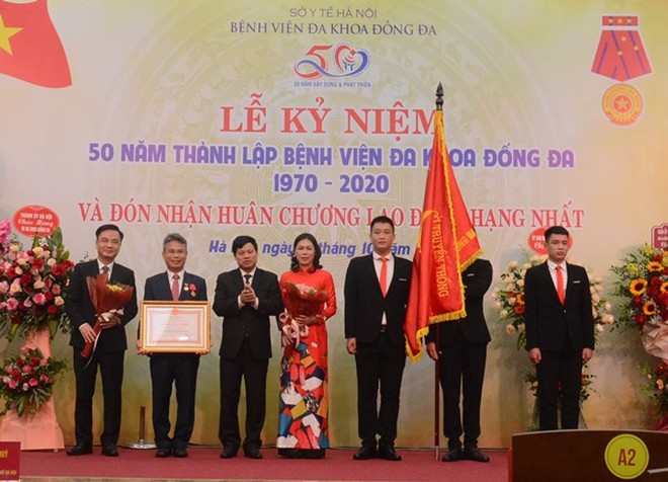 Hà Nội: Xây dựng Bệnh viện Đống Đa thành tuyến cuối về truyền nhiễm và lão khoa của miền Bắc ảnh 1
