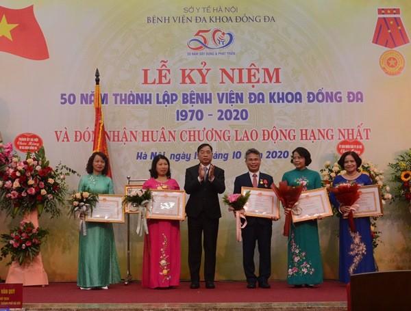Hà Nội: Xây dựng Bệnh viện Đống Đa thành tuyến cuối về truyền nhiễm và lão khoa của miền Bắc ảnh 2