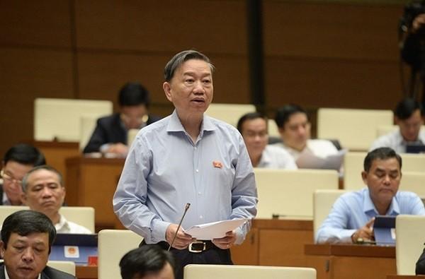 Bộ trưởng Tô Lâm: Xử lý nghiêm cán bộ sai phạm, không bao che bất kể trường hợp nào ảnh 1