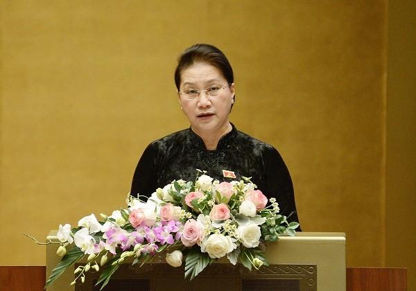 Chủ tịch Quốc hội: ĐBQH phải hoàn thành tốt hơn nữa trọng trách của người đại biểu nhân dân ảnh 1